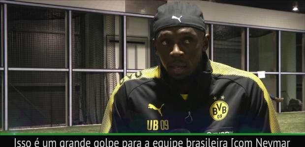 Bolt: O Brasil não vencerá sem Neymar