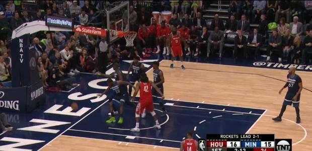 Rockets vence Timberwolves e garante liderança por 3 a 1