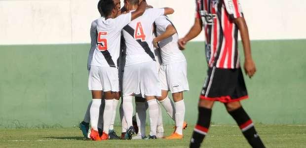 Copa BR sub-20: Vasco vence São Paulo com três viradas e ...
