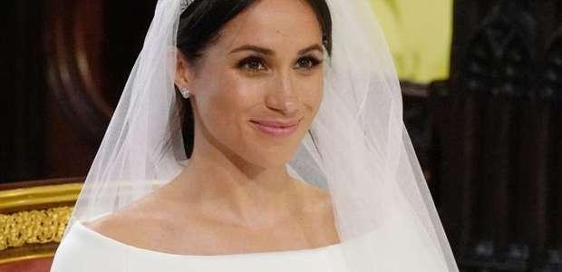 Meghan Markle acordou tranquila para seu casamento com Harry