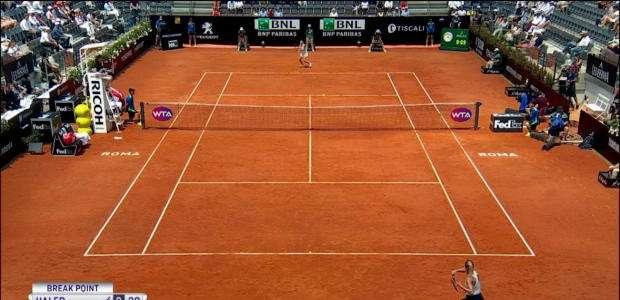 TÊNIS: WTA Roma: Svitolina venceu Halep e conquistou o ...