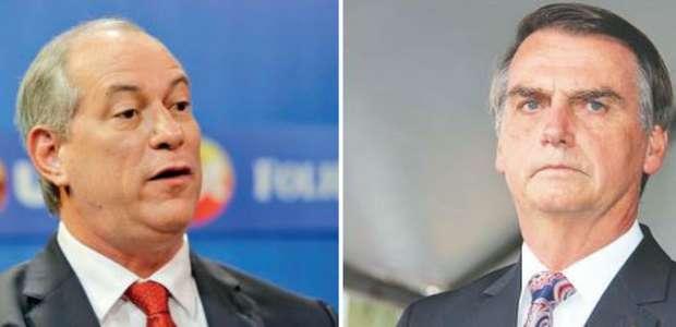 Bolsonaro rebate críticas de Ciro Gomes