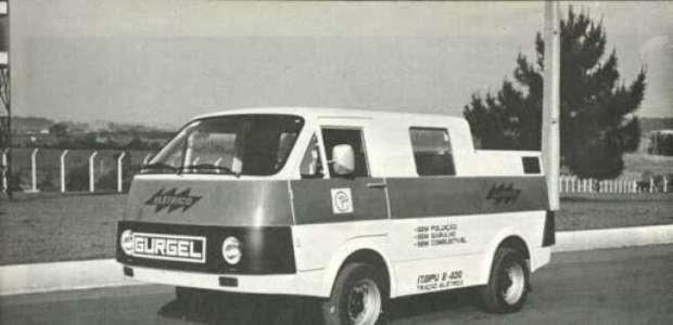 Gurgel Itaipu E-400: o primeiro carro elétrico produzido ...