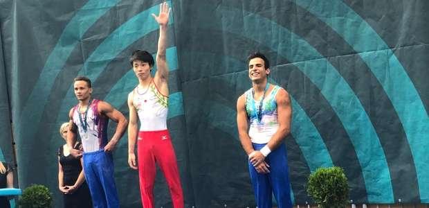 Brasileiro leva o bronze na Copa do Mundo de ginástica