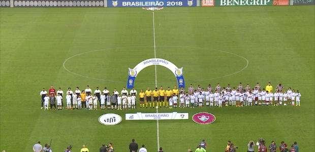 Campeonato Brasileiro: Fluminense 0 x 1 Santos