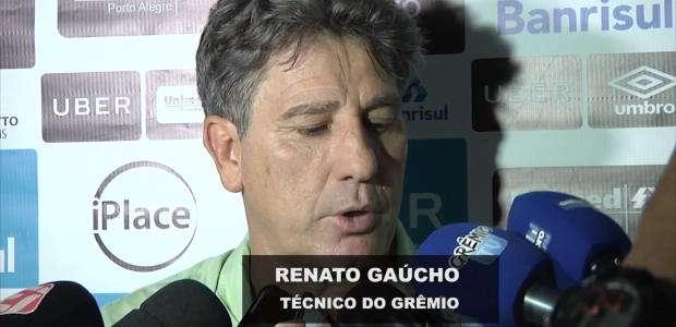 GRÊMIO: Renato Gaúcho diz que até a parada da Copa, seu ...