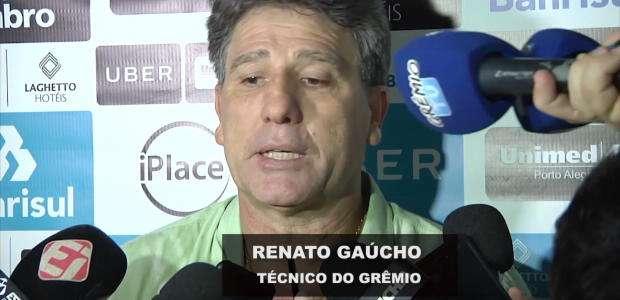 GRÊMIO: Recuperar jogadores e descansar a cabeça: Renato ...