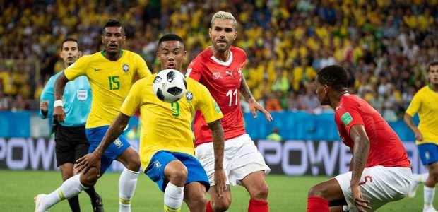 Elogiado por Tite, Gabriel Jesus comemora volta à Seleção