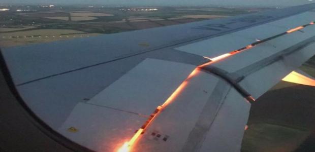 Copa 2018: SUSTO! Fogo em asa de avião da Arábia Saudita ...