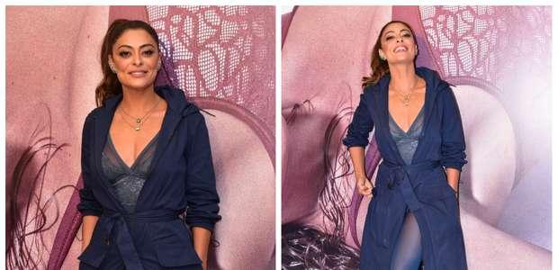 Juliana Paes lança coleção de lingerie e conta seus segredos
