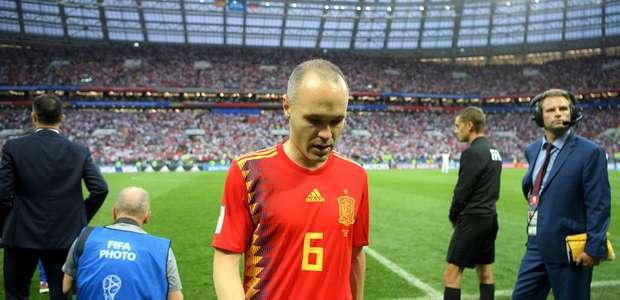 Em carta, Iniesta se despede da seleção espanhola