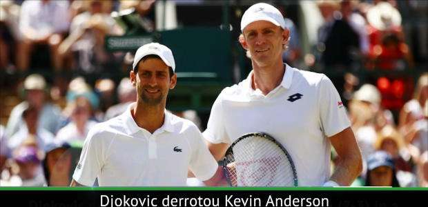 Wimbledon: Djokovic venceu Anderson e é o campeão de ...