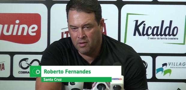 SANTA CRUZ: Roberto Fernandes sobre Carlinhos Paraíba: ...