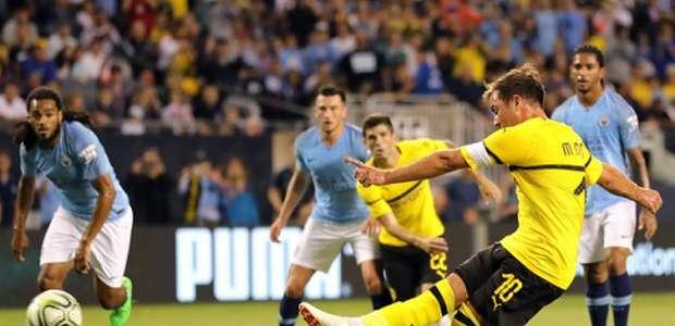 Götze decide, e Borussia Dortmund vence o City em ...