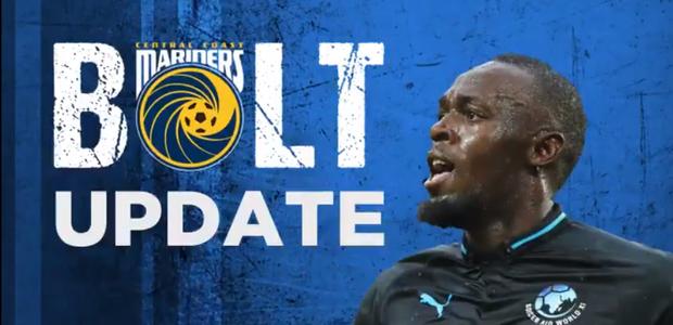 Bolt faz acordo e treinará em time de futebol australiano