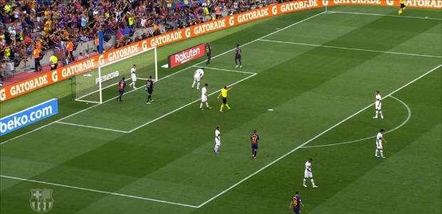 Veja o golaço de Rafinha para o Barça
