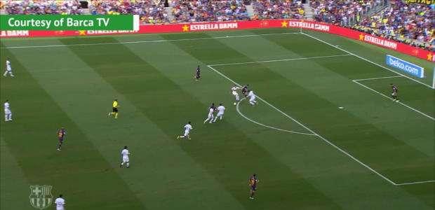 Messi brilhou e marcou o seu para o Barça contra o Boca