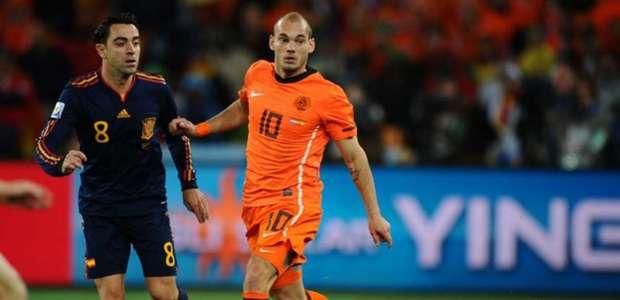 'Um jogador não ganha a Champions', diz Sneijder sobre CR7