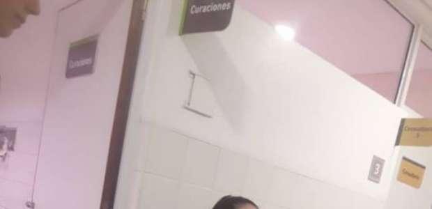 Policial argentina amamenta bebê que chorava em hospital