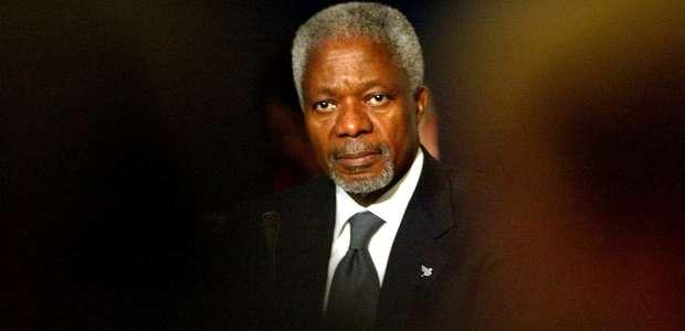 Kofi Annan, ex-secretário-geral da ONU, morre aos 80 anos