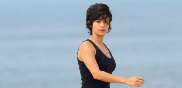 Nanda Costa dança funk com elenco de 'Segundo Sol'