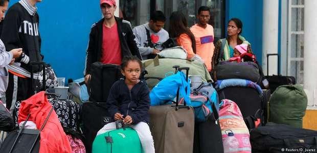 ONU associa êxodo venezuelano à crise no Mediterrâneo