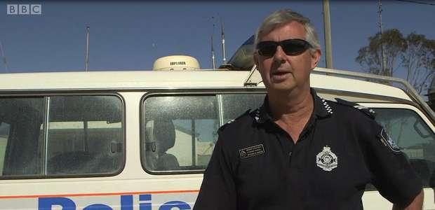 O policial que patrulha sozinho uma área do tamanho do ...