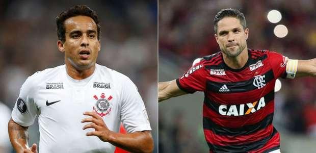 Corinthians x Flamengo: quem tem o melhor time? Vote nos ...