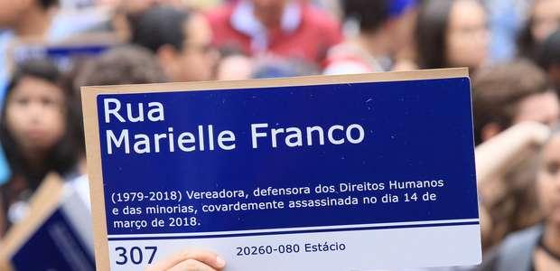 Marielle é homenageada em novo samba-enredo da Mangueira