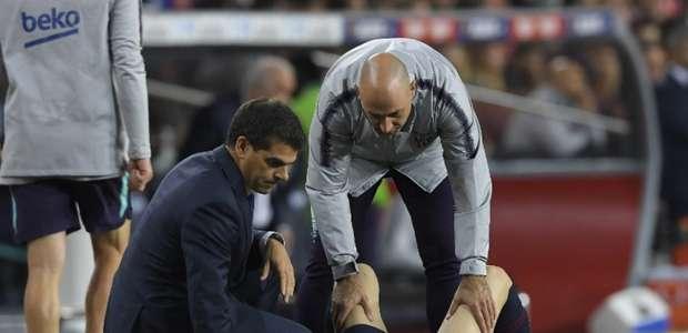 Barcelona bate o Sevilla, mas Messi é lesionado e preocupa