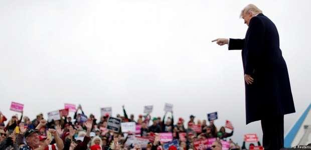 """Eleições nos EUA serão """"referendo"""" de administração Trump"""