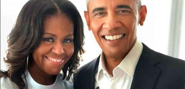 Michelle Obama recebe homenagem romântica de Barack