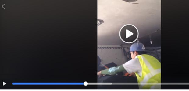 #Verificamos: Vídeo furto de malas em avião não é no Brasil
