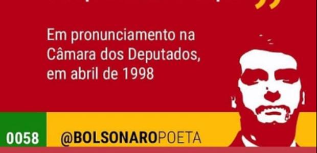 #Verificamos: Bolsonaro elogiou cavalaria por dizimar índios