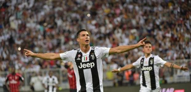 CR7 comemora primeiro título com a Juventus: 'Estou ...