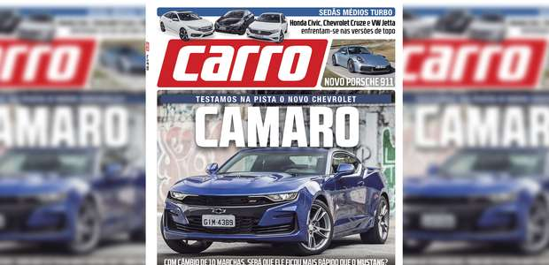 CARRO de janeiro: Chevrolet Camaro SS Coupé 2019 supera ...