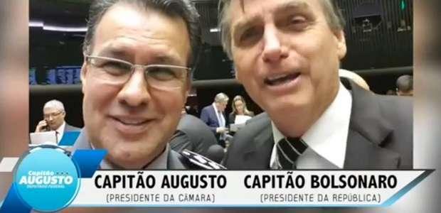 Capitão Augusto levará boneco para o gramado do Congresso