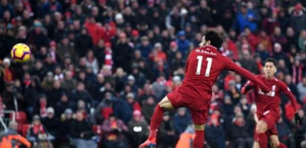 De virada e com gols de Salah, Mané e Firmino, Liverpool ...