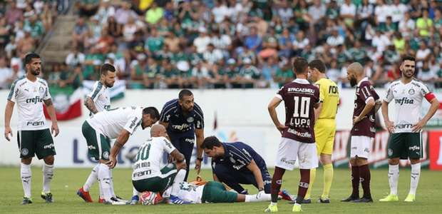 Exame indica Felipe Pires vetado no Palmeiras por até ...