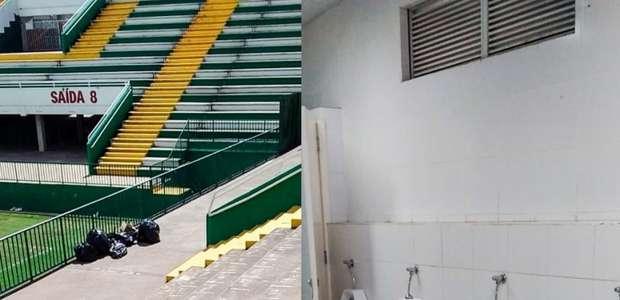 Torcedores do Unión La Calera limpam arquibancada e ...