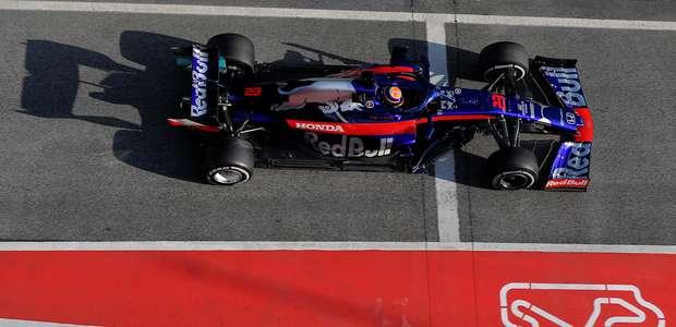 Pré-temporada da F1: Albon mantém Toro Rosso na ...
