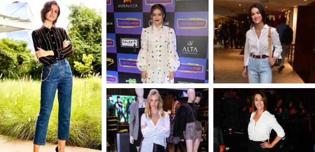 Melhores da semana: 5 famosas ensinam como usar camisas