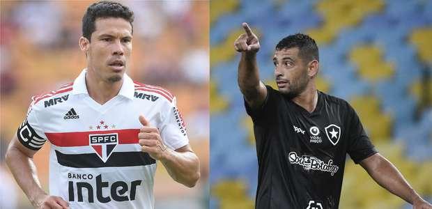 Entre os grandes, São Paulo e Botafogo sofrem nos Estaduais