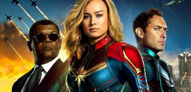 Bilheterias Brasil: Quebrando recordes, Capitã Marvel ...