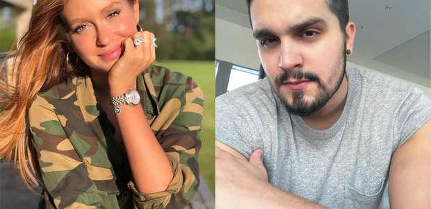 Luan Santana e Marina Ruy Barbosa já ficaram, revela Dias
