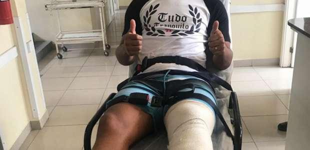 Meia do Brasil de Pelotas passa por nova cirurgia