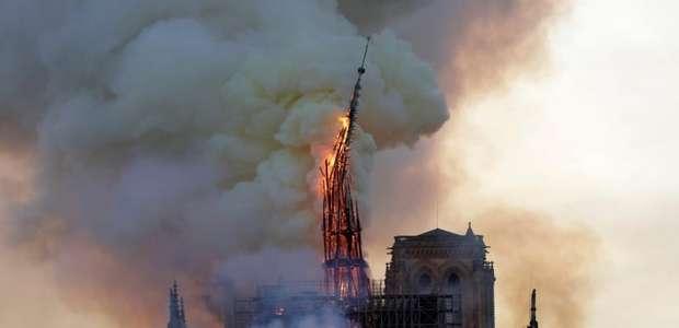 O outro lado sobre a reconstrução de Notre Dame