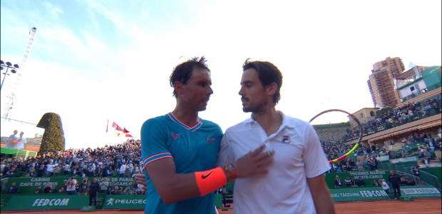 ATP Monte-Carlo Masters: Nadal v Pella (7-6, 6-3)