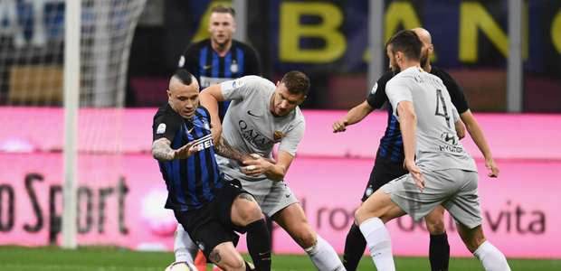 Inter e Roma empatam no San Siro