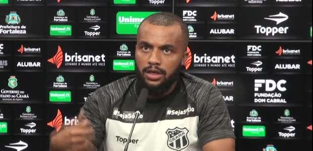 """CEARÁ: Samuel Xavier sobre Brasileirão: """"Aprendemos a ..."""